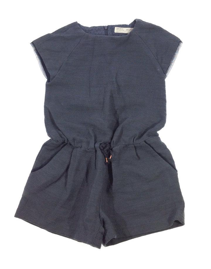 088fcdb3fe Zara szürke kislány rövidnadrágos ruha | Gyerekruha Klub