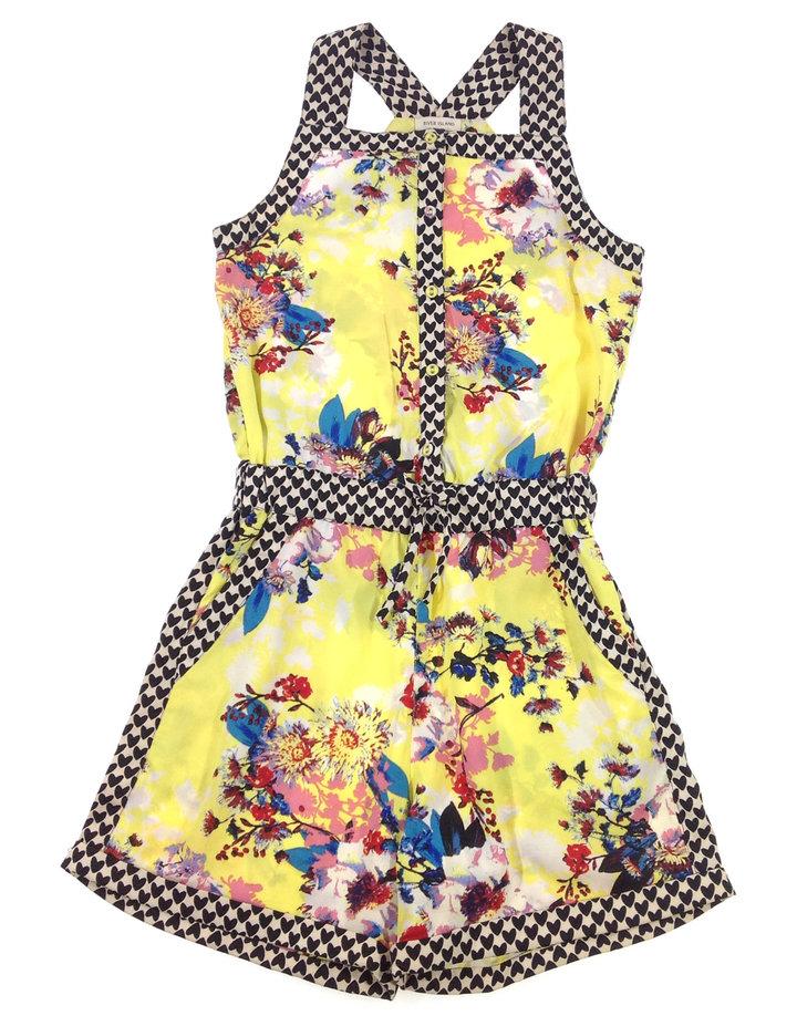 c180de8784 River Island virág mintás lány rövidnadrágus ruha   Gyerekruha Klub ?