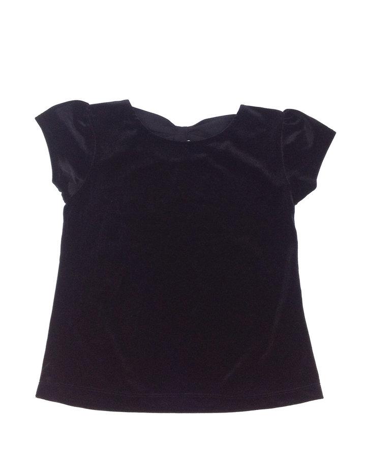 St. Bernard fekete bársony póló  0ade17e610