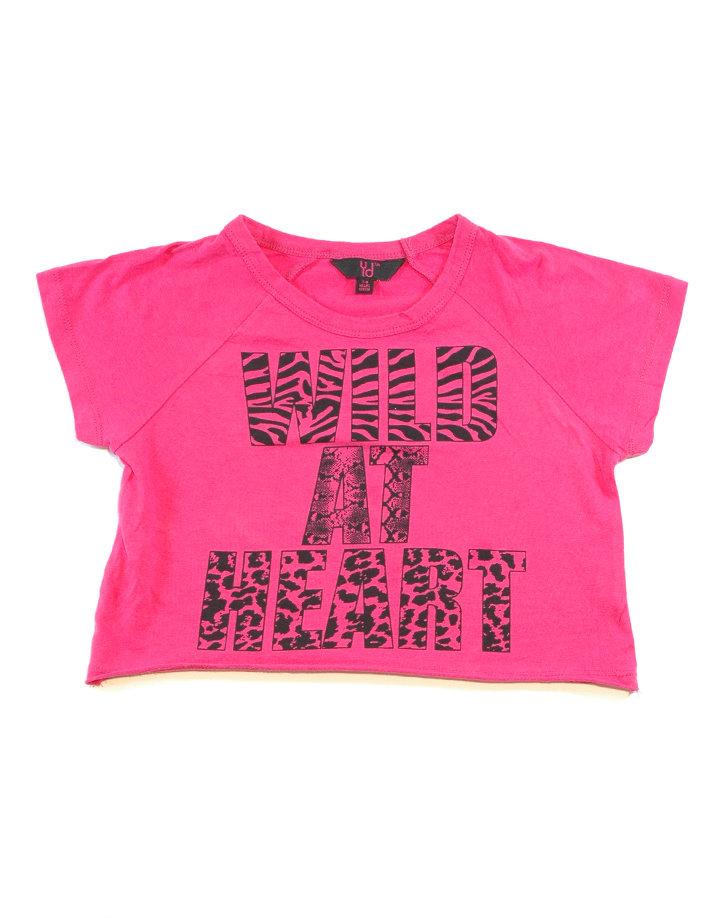 Pink póló, fekete felirattal