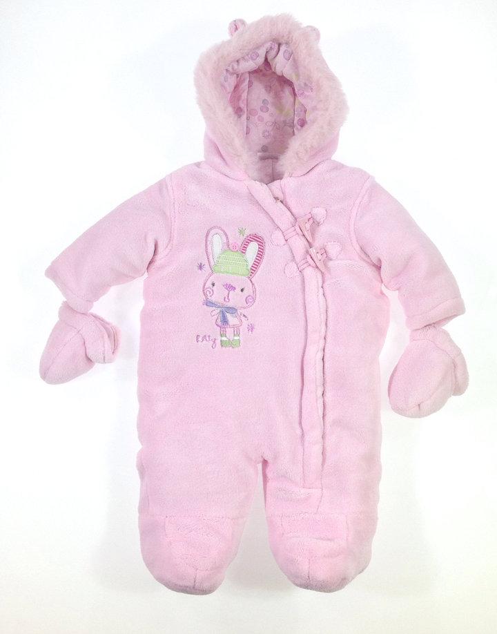 f51848b7da Baby nyuszi mintás baba téli overall | Gyerekruha Klub ?