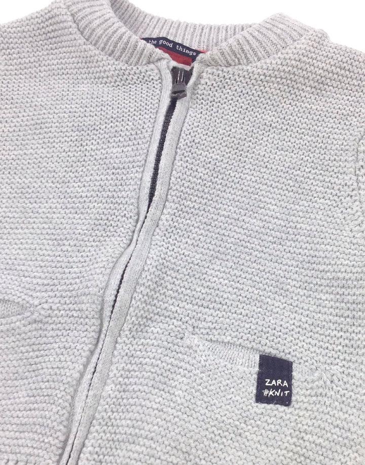 Zara világosszürke baba kardigán Zara világosszürke baba kardigán 79a08d5d72