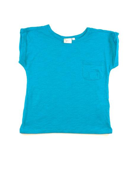 Kék lányka póló