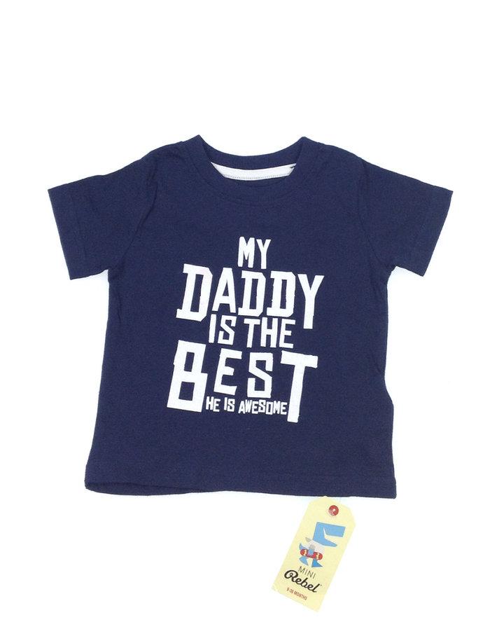 Rebel sötétkék baba póló  469daff4ba