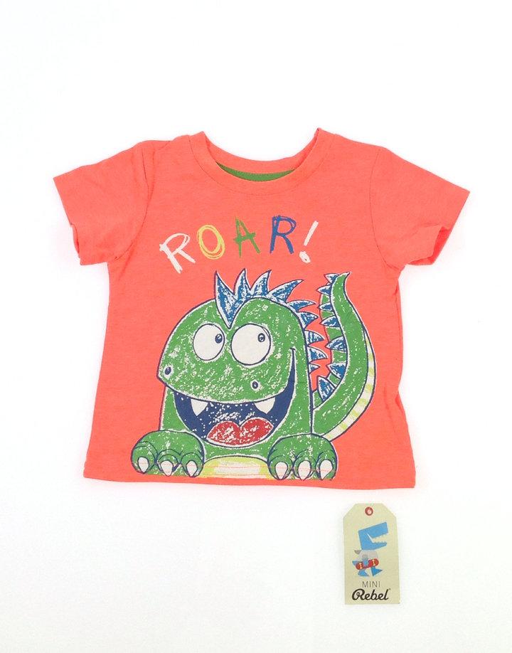 Rebel dínó mintás baba póló  a2addb987e