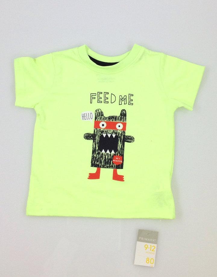 Primark szörnyecskés baba póló  7ded108047