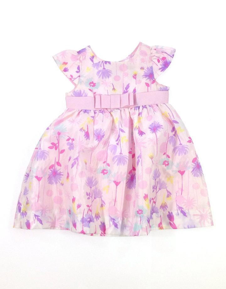 Baby virág mintás baba alkalmi ruha  f7969fbc91
