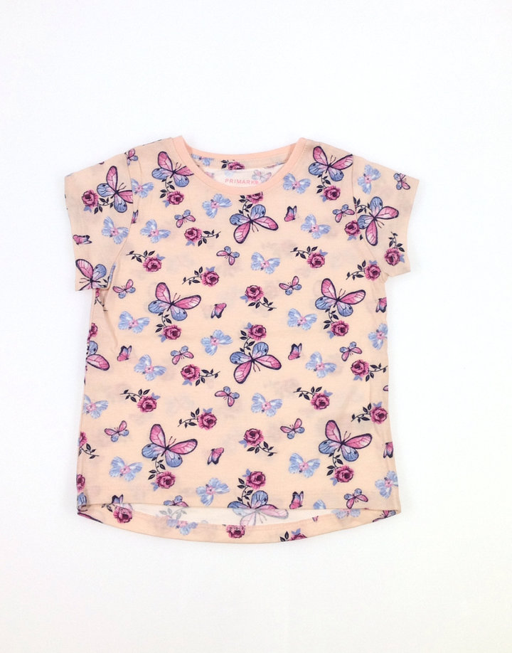 Primark pillangó mintás kislány póló  01a3800637