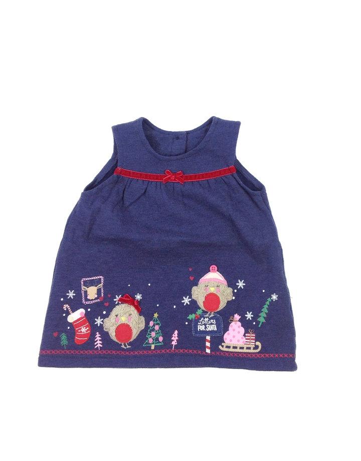George karácsonyi mintás baba ruha  949169573e