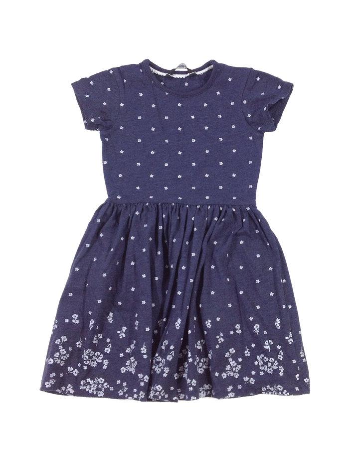 4a9a3fe333 George fehér virág mintás kislány ruha | Gyerekruha Klub ?