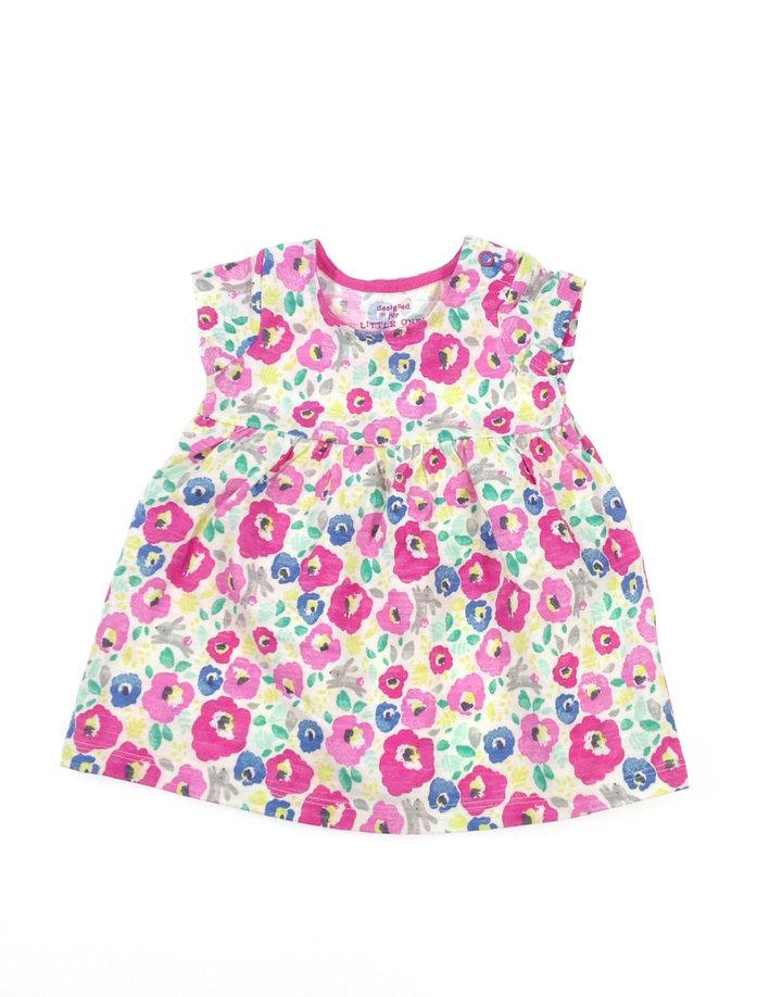 F F virág mintás baba ruha  fa790611ab