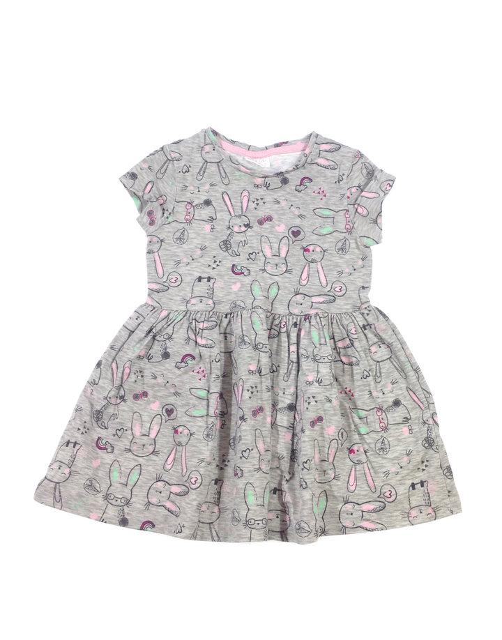 064e77d22d F&F nyuszi mintás kislány ruha | Gyerekruha Klub ?