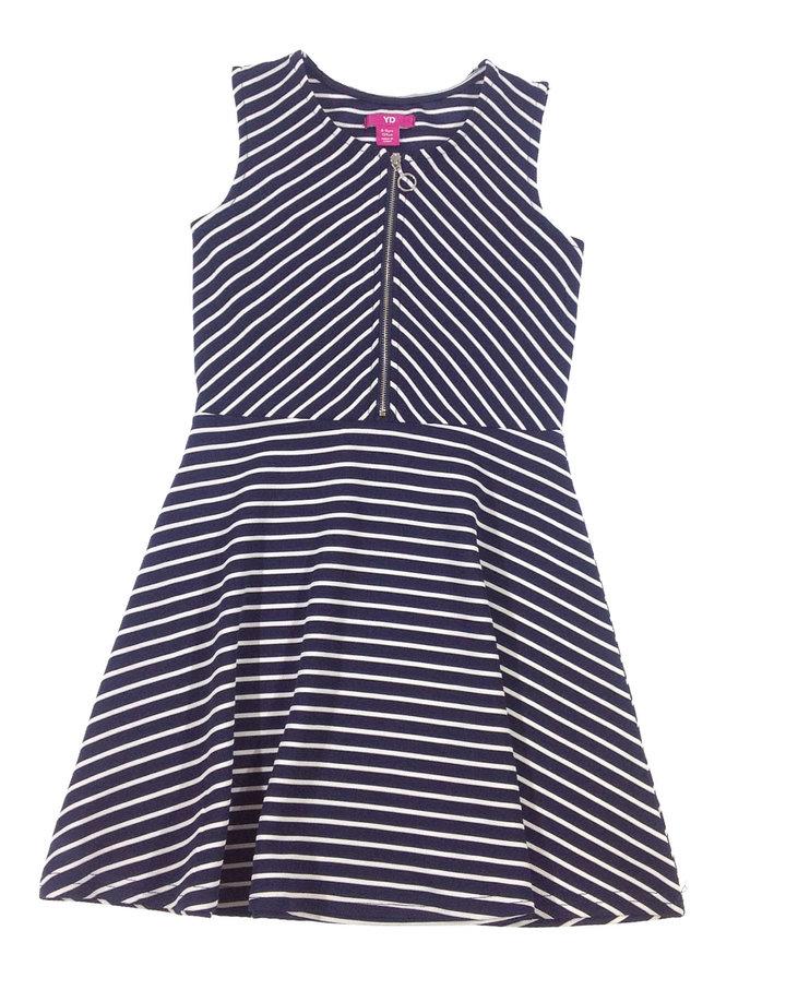 Y. d. csíkos kislány elegáns ruha  9c26de6196