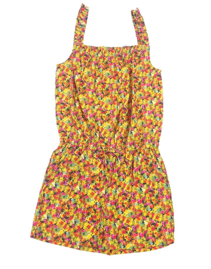 Next virág mintás kislány rövidnadrágos ruha  60dc74f23a