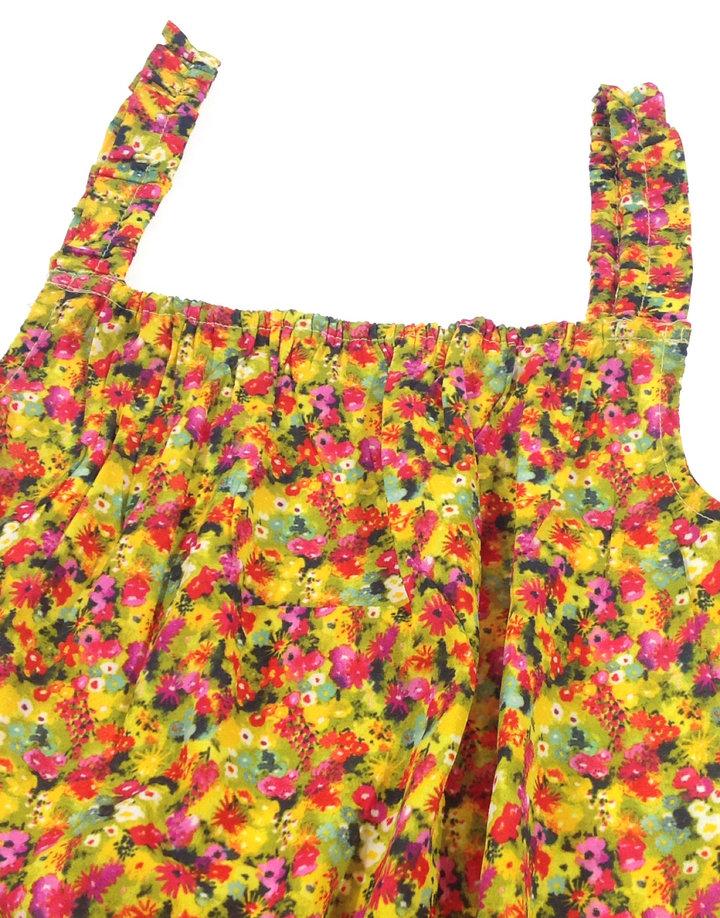 Next virágmintás kislány rövidnadrágos ruha Next virágmintás kislány  rövidnadrágos ruha 31692ec784