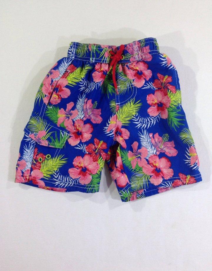 Rebel Hawaii mintás úszónadrág   bce2d2d7da