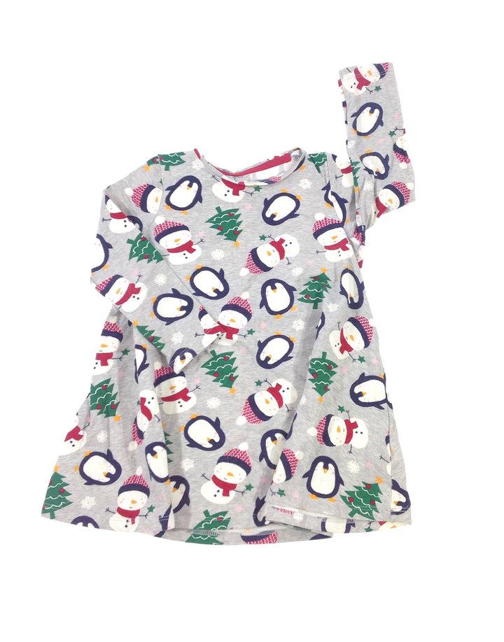 5eafe3ad7cd9 F&F pingvin mintás kislány ruha | Gyerekruha Klub