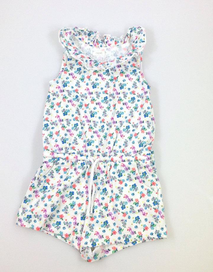 Next virág mintás rövidnadrágos kislány ruha  b4002bc74f