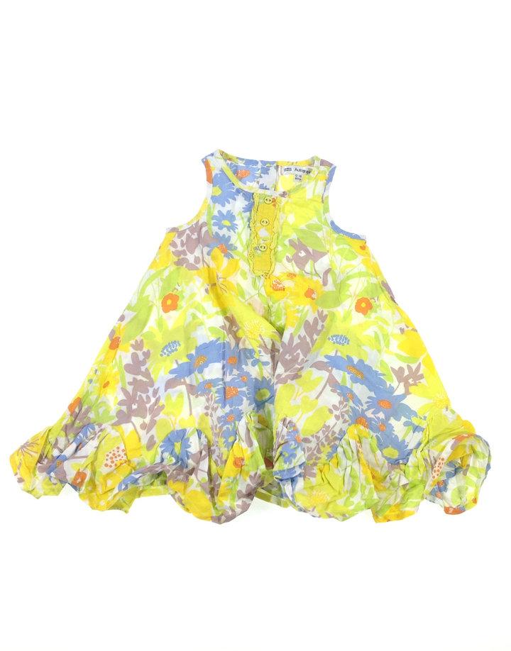 Marks   Spencer bő szabású kislány ruha  c874a6cd87
