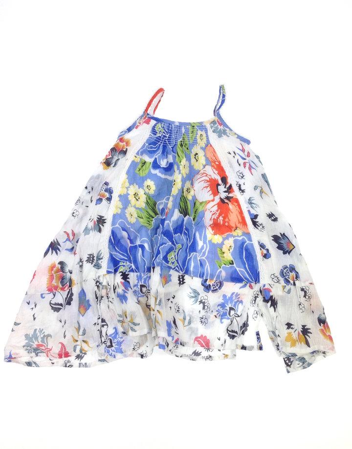 St.Bernard virág mintás kislány ruha  f52e206905