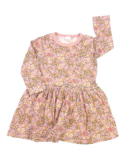 George apró virág mintás bársony ruha  6b46640725