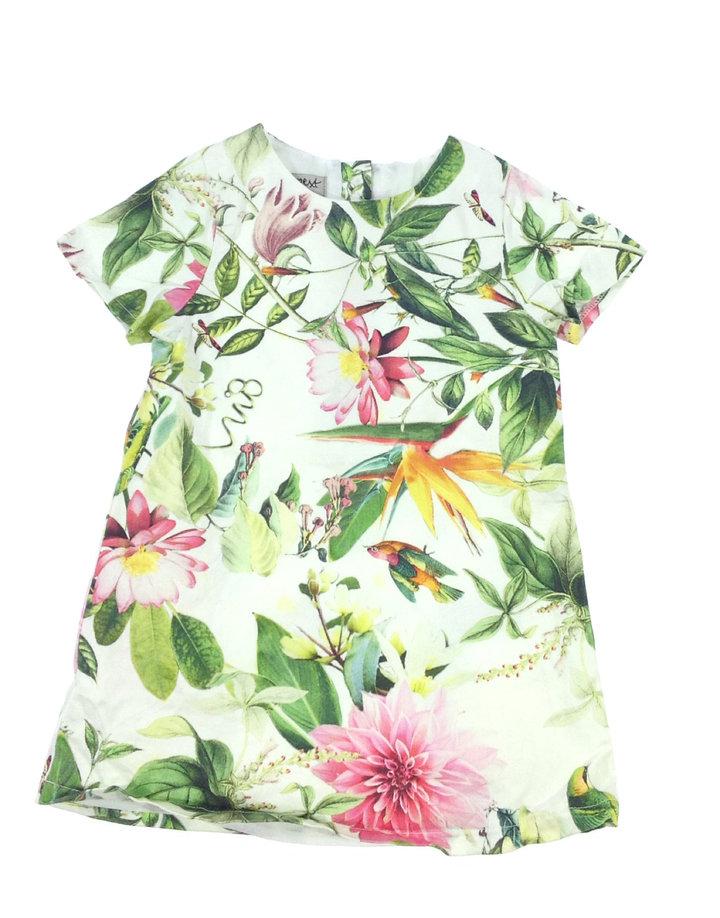 Next virág mintás fehér kislány ruha  2d6655f2d0