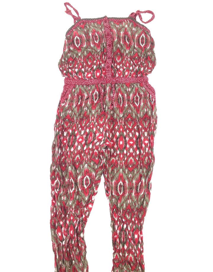 St. Bernard piros mintás nadrágos ruha  03d8e09083