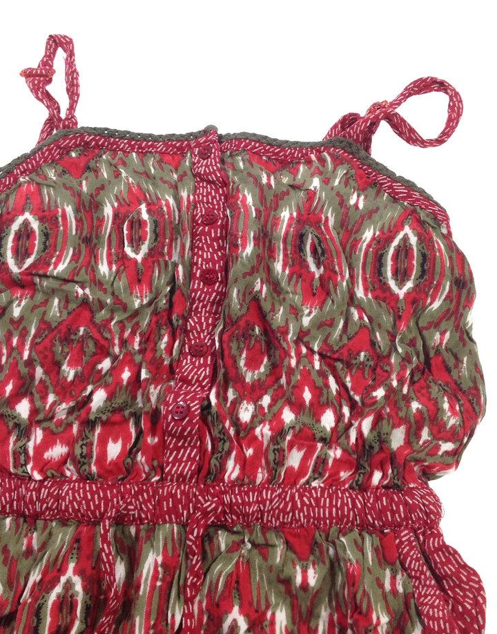 ... St. Bernard piros mintás nadrágos ruha 3d15571607