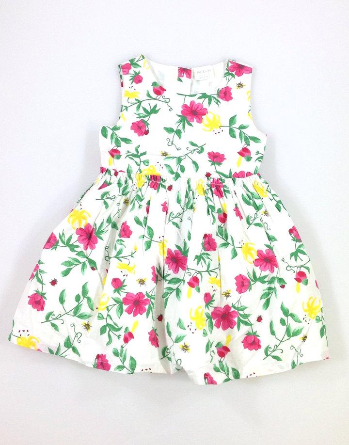 F F virág mintás kislány fehér ruha - 1790 Ft - Vatera.hu 8c34947173