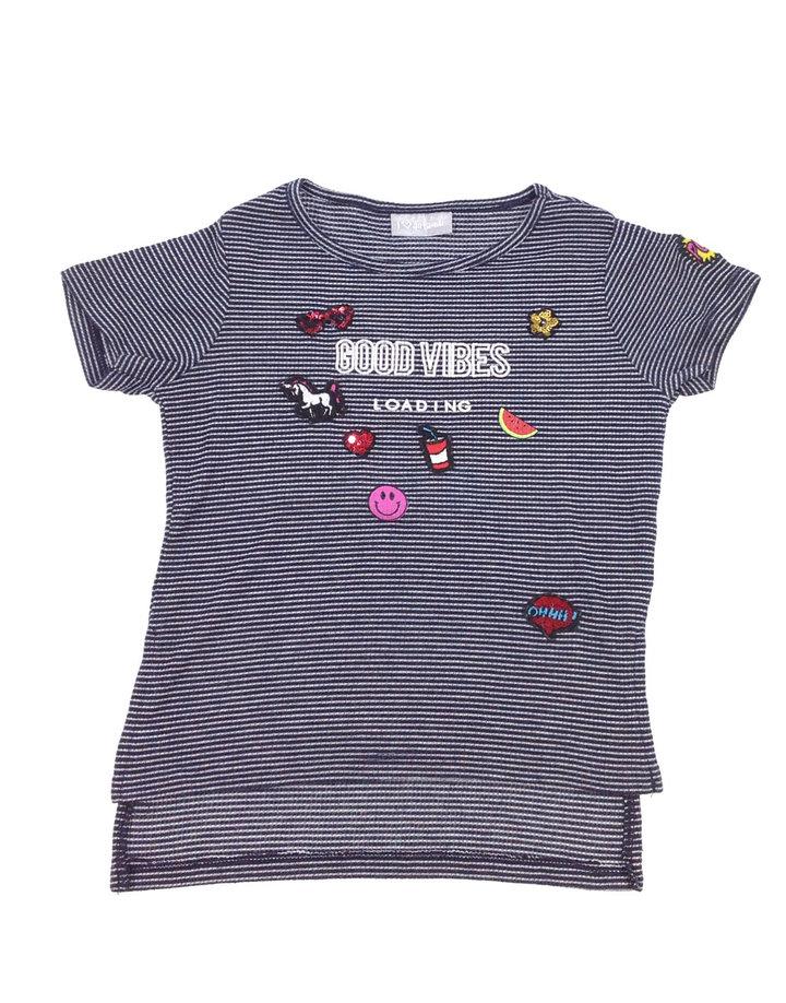 26e454c97d Matalan csíkos és mintás lányka póló | Gyerekruha Klub