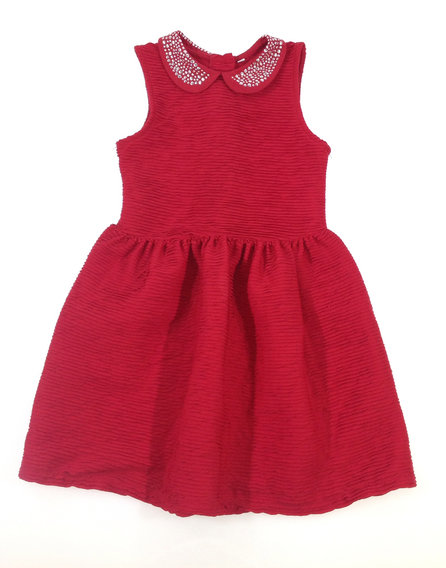 Marks   Spencer piros kislány alkalmi ruha 95fb0a6abc