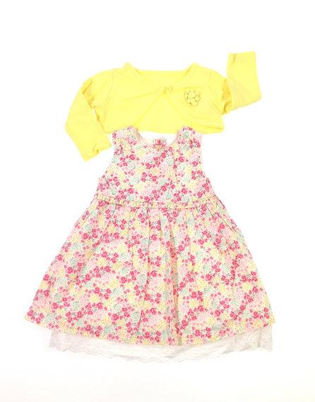 Early days apró virág mintás baba ruha boleróval dbc752f053