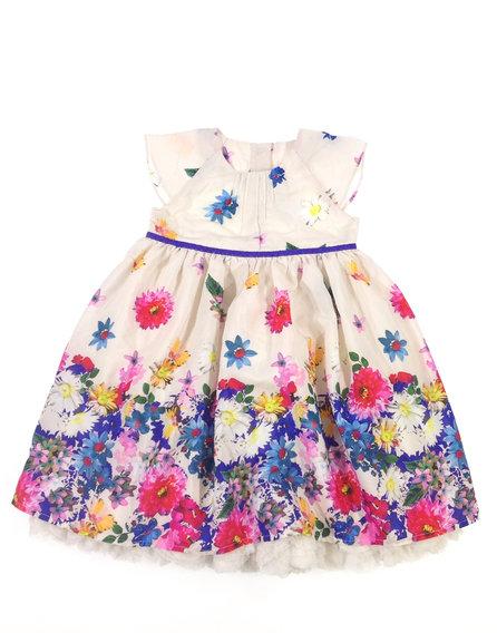 Marks   Spencer virág mintás kislány alkalmi ruha eebf32306f