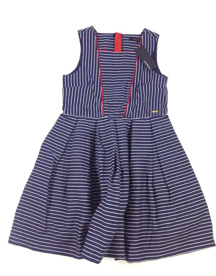 Marks   Spencer csíkos kislány elegáns ruha  1b4852c9f0