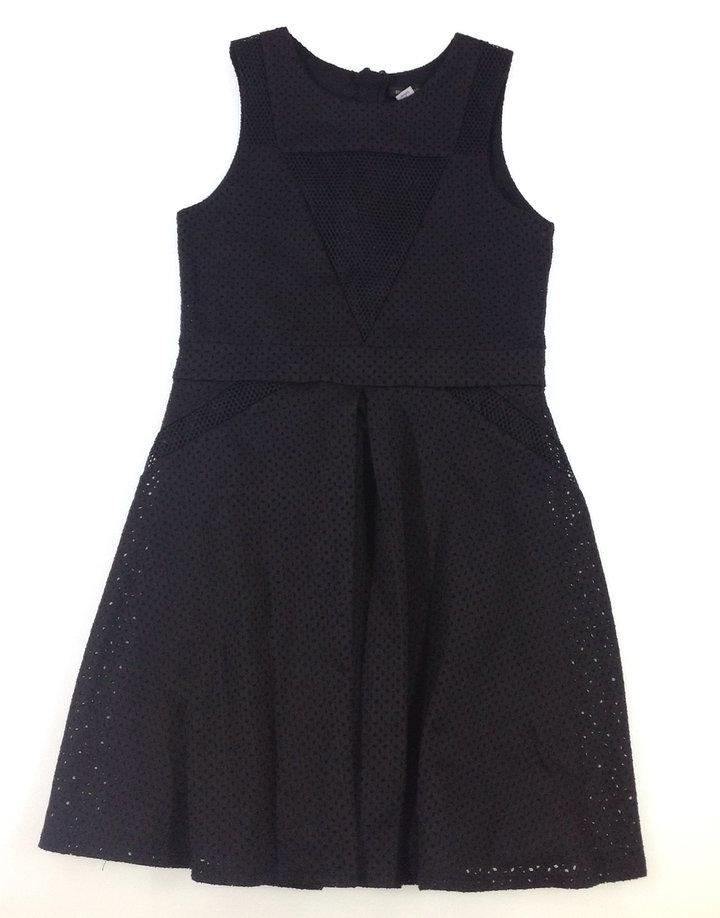 3b7ffddd28 River Island fekete lány elegáns ruha | Gyerekruha Klub