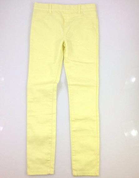 Denim Co. citromsárga farmerszerű nadrág 8aab6a231c