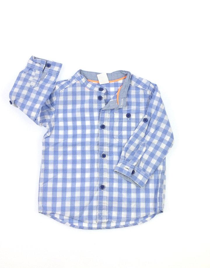 ccb1a1cad0 H&M kék kockás baba ing | Gyerekruha Klub ?