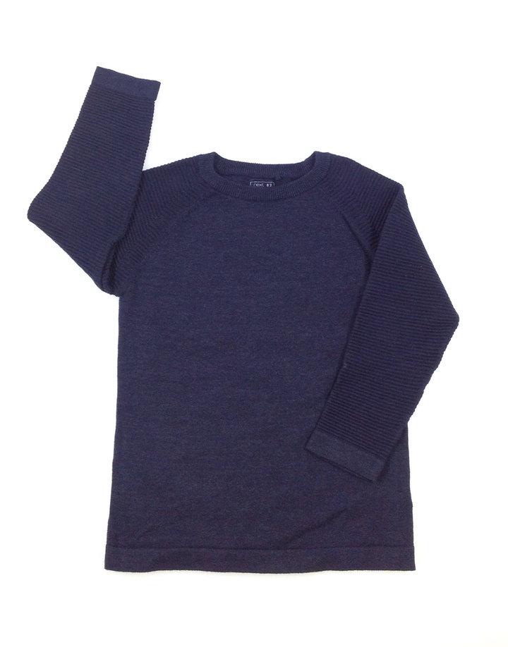 Next sötétkék kisfiú pulóver