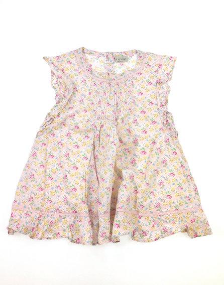 Next virág mintás rózsaszín kislány blúz b82a039479