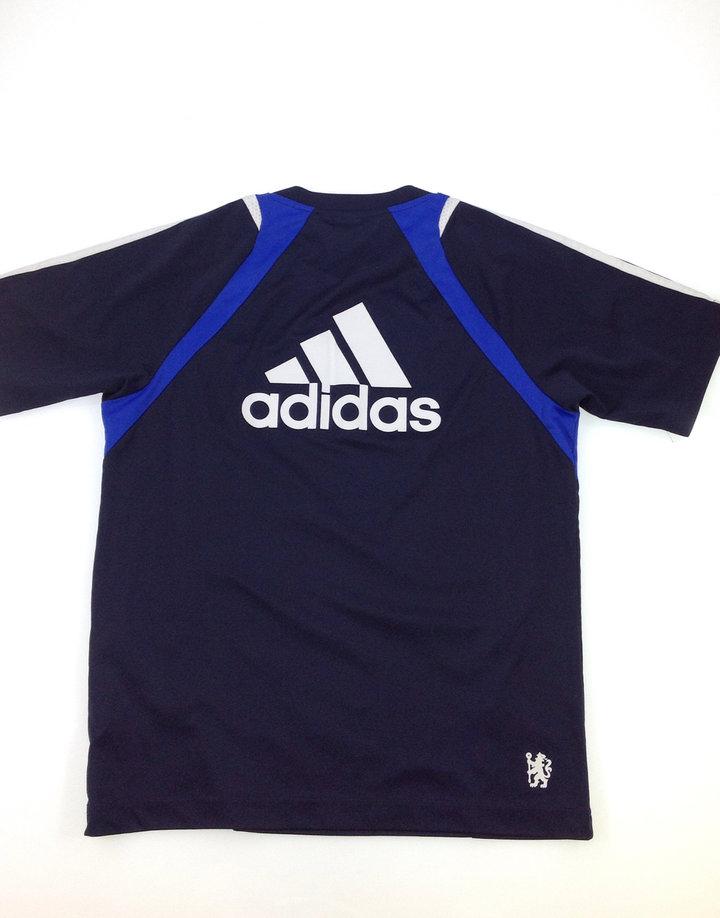 febe82a017 Adidas Chelsea mintás fiú póló Adidas Chelsea mintás fiú póló