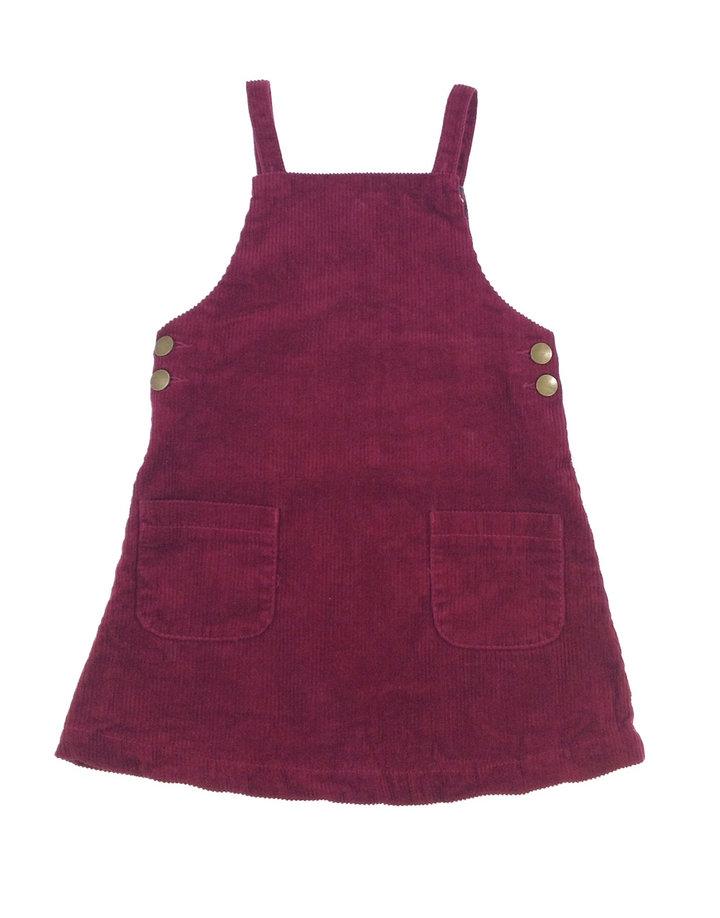 1277e32453 St. Bernard bordó bársony ruha | Gyerekruha Klub