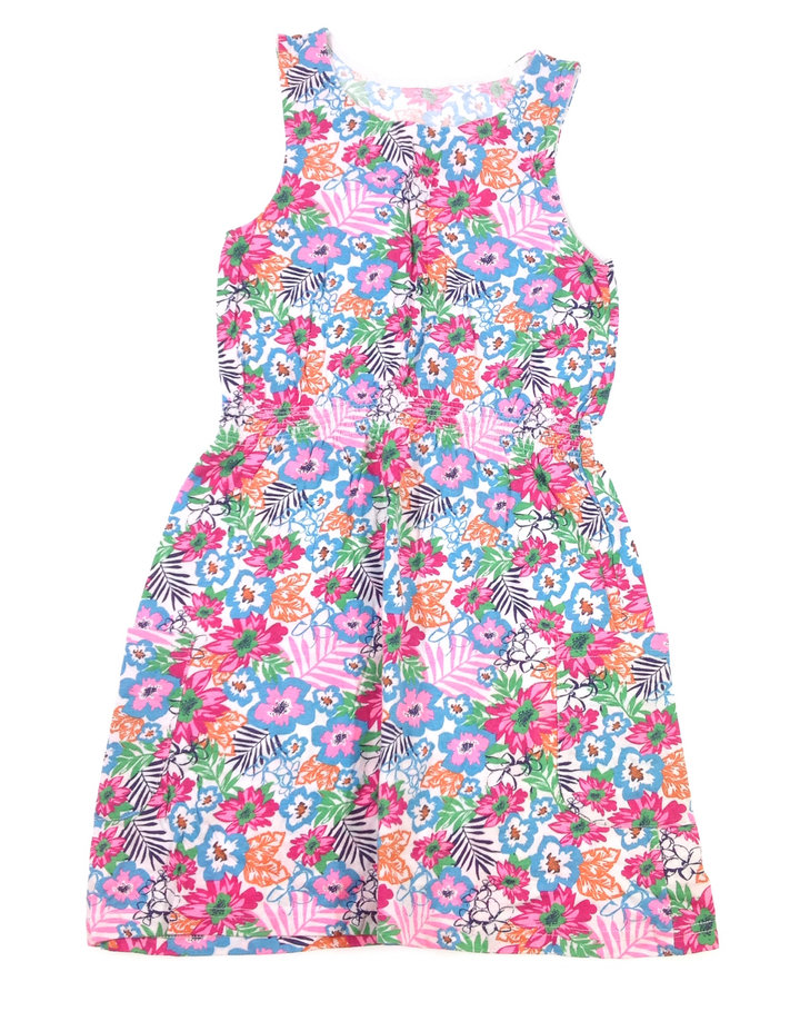 322291125a St. Bernard virág mintás lány ruha   Gyerekruha Klub