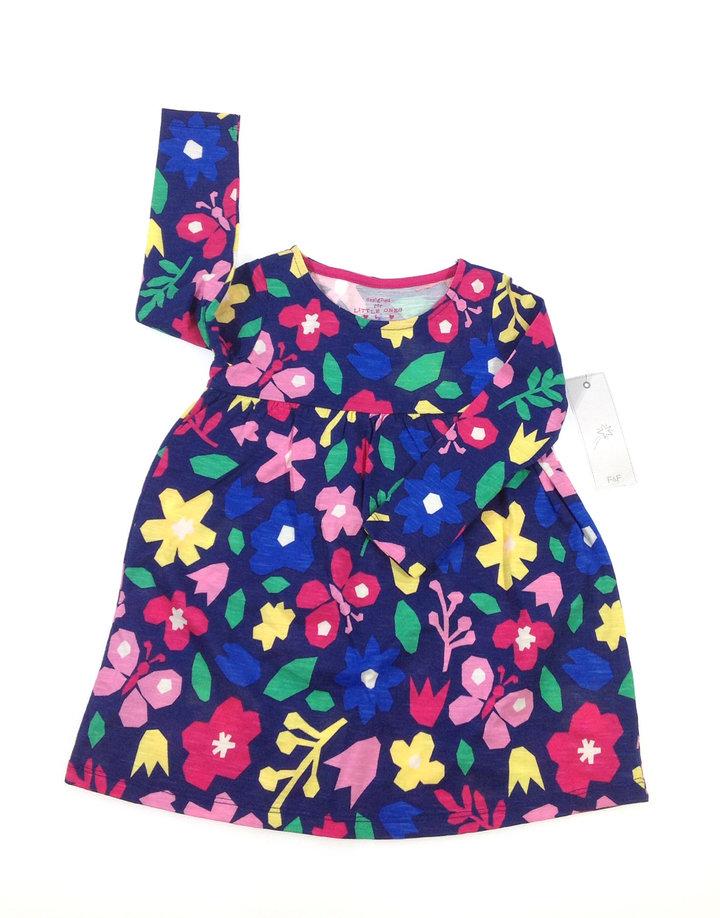 7e794e963d F&F virág mintás kislány ruha | Gyerekruha Klub