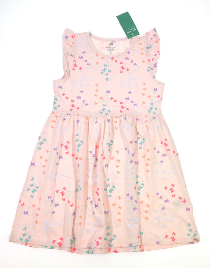 533f3c8776 H&M pillangó mintás nyári ruha | Gyerekruha Klub ?