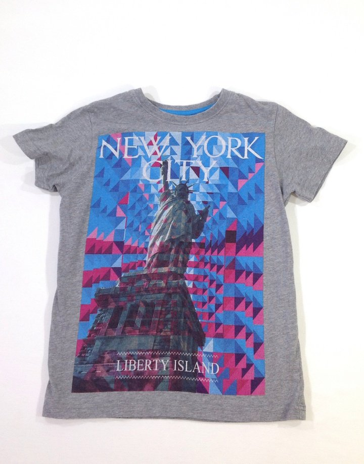 Next Szabadság-szobor mintás kislány póló