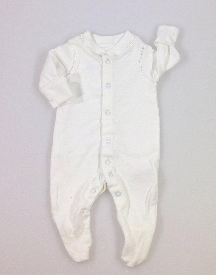 79085d8ff9 Mothercare fehér pamut rugdalózó | Gyerekruha Klub