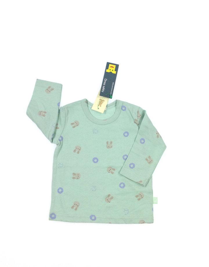 0e814a33cf Benetton nyuszi mintás baba felső   Gyerekruha Klub