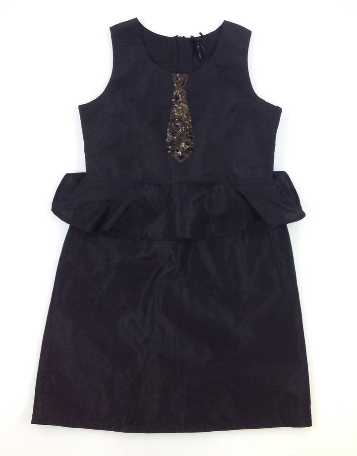 51abcbafd7 Next fekete lány alkalmi ruha | Gyerekruha Klub