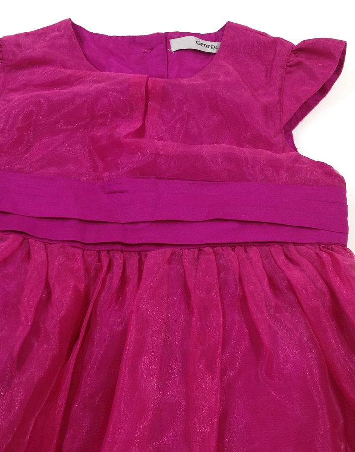 00006827fc George rózsaszín kislány alkalmi ruha George rózsaszín kislány alkalmi ruha  ...
