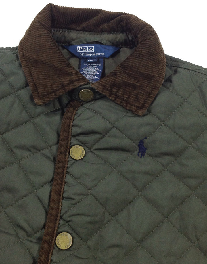 52c92ab021 Ralph Lauren zöld steppelt átmeneti kabát - 2790 Ft ...